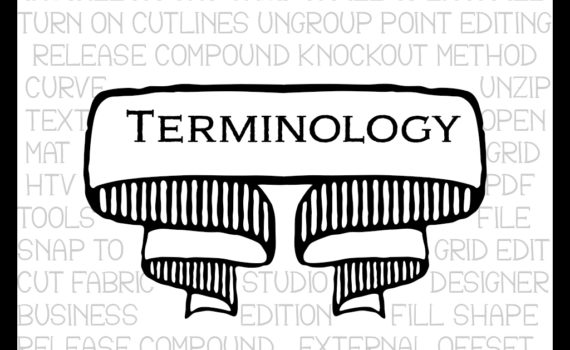 Terminology most used in the Silhouette community